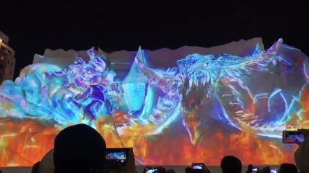 """【实验室TV】在札幌冰雪祭,看""""中二""""的雪雕演出"""
