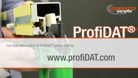 ProfiDAT-最紧凑的起升设备和工业自动化数据传输解决方案