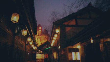 雾霾天下的杭州,有点朦胧