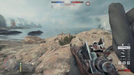 【基拉】战地1启示录dlc侦察兵实况01 M1917恩菲尔德能否成为第一冲锋狙?