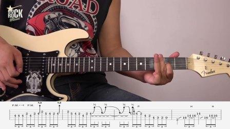 重金属主奏电吉他教学No.35《练习曲#3讲解》2