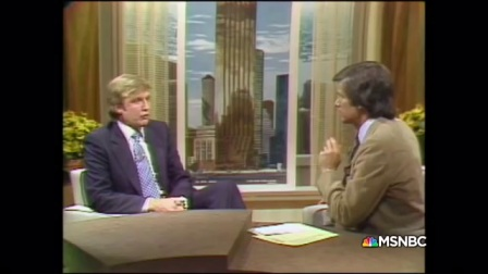 Donald Trump 1980 Interview by MSNBC