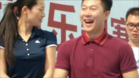 奥运冠军李小鹏罗雪娟乐跑