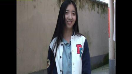 青春8之圆脸美女剪长发