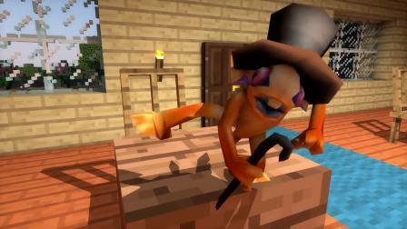 MC动画-FNAF幼儿园之炼药-Kamehamecraft Animations