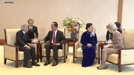 両陛下 ベトナム国賓の国家主席夫妻を歓迎