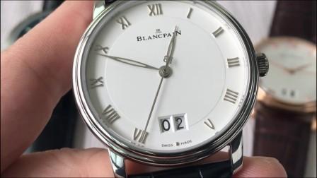 【评测】宝珀经典系列6669-1127-55B腕表