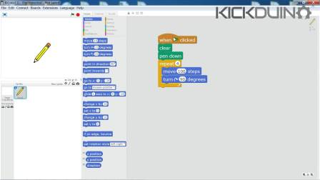 KicoBox Tutorials:Lesson2_scratchmode E2
