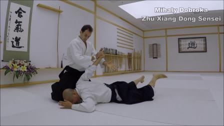 合气道练习在武汉-朱向东老师