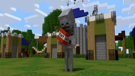 【Minecraft】如果 我的世界 变成了 CS和皇室战争