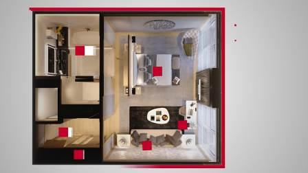 海福乐酒店模块 - 一个房间,一张面孔,一种风格 中文