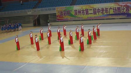 黄河小区舞蹈队广场舞比赛一等奖 我的祖国  教练杭薇