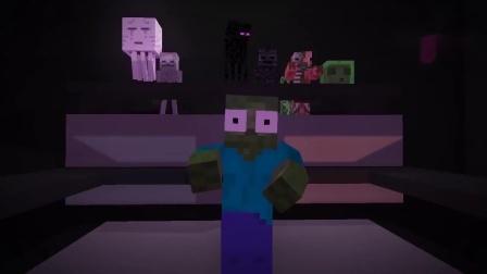 我的世界动画-舞蹈挑战-Mr.Villager