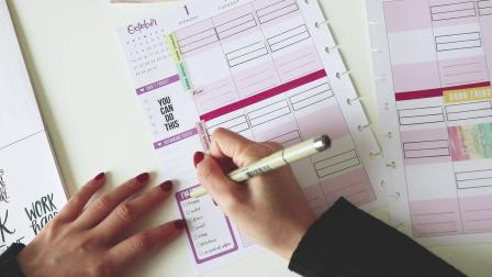 Plan with me_HP Student planner
