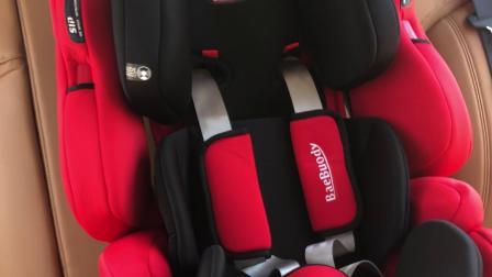 贝诺蒂儿童安全座椅ISOFIX硬接口+LATCH版安装视频