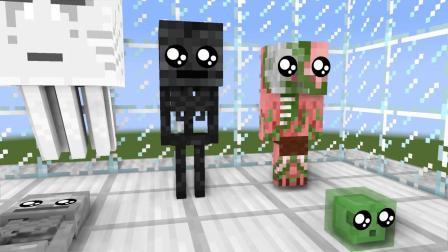 我的世界动画-怪物幼儿园版狂奔-AppleSauceCraft