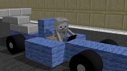我的世界动画-方程式赛车-YellowBee Craft