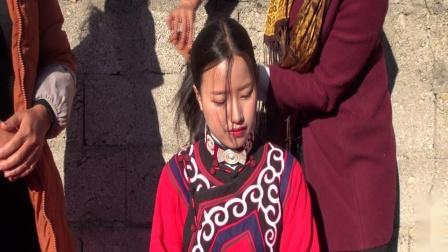 (吉伍阿合)彝族结婚。彝族歌曲。彝族电影沙马阿且和邱木诗姑莫新婚之喜第二集
