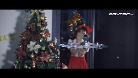 圣诞节无人机送礼物,给她无限惊喜!