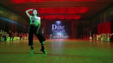 035 张紫琪 冷水江市体育舞蹈艺术培训学校 2018湖南省少儿舞蹈模特时装周