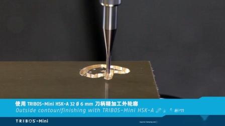 雄克三角刀柄 TRIBOS-Mini 微细切削应用