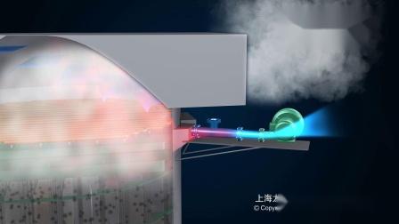 湿式电除尘器动画-超净脱硫除尘-环保设备三维动画_巨浪视觉