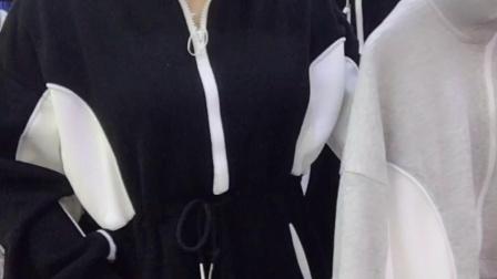 (清)纯棉收腰休闲时尚外套 运动上衣 55/件 4件起