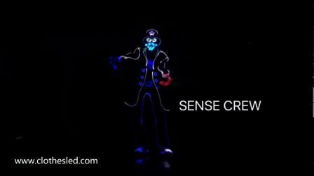长沙天创LED发光服实时同步控制系统震撼演出