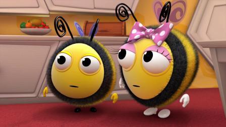 小蜜蜂 2 蜜蜂妈妈用水果制作健康的水果蛋糕