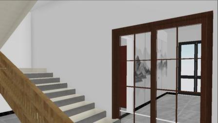 装修设计效果图(2楼)