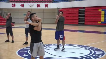 2019靖州县篮球教练员培训(体能训练)