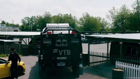 Kamaz Truck Jumps Drifting Lamborghini