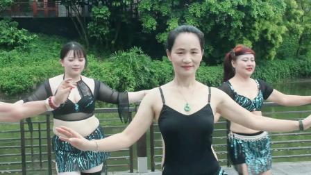 中山肚皮舞JQ国际肚皮舞瑜伽 初级舞蹈