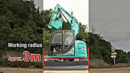 新神钢SK75SR-6 7.5吨挖掘机
