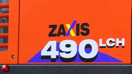 日立挖掘机ZX890和ZX490-6
