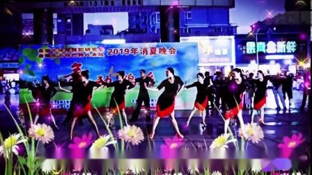 盘锦市《消夏晚会》演出单位  越舞越媚拉丁舞培训中心2019.8.6 (2)