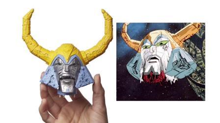 变形金刚 塞伯坦之战 WFC Haslab 宇宙大帝 头部展示视频,可拔头,可动眼,可换战损脸