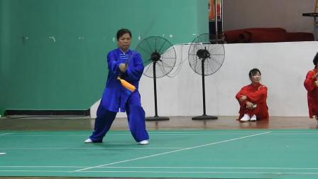 海口市第九届太极拳(械)比赛-丁老师武当剑