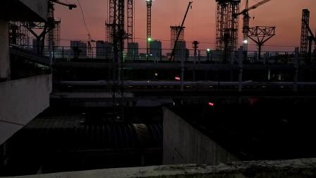 2019年9月7日,G275次(青岛站—广州南站)本务中国铁路济南局集团有限公司青岛动车段青岛北动车运用所CRH380BL型广州北站通过