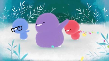 小鸡彩虹第一季 04 变瘦的月亮