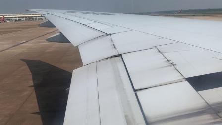 波音777-300ER 海口美兰国际机场起飞过程。