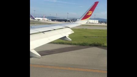 空客A320-214 大阪关西国际机场降落