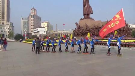 辽宁轮滑群第67集《沈阳中山广场国庆节》