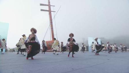 20191022_德钦县香格里拉梅里雪山弦子节开幕式霞若乡傈僳族舞蹈《啊呦呦》