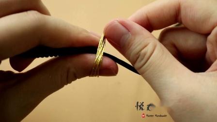 【扶摇收拉扣款 】简单情侣手绳手链diy编绳视频教程 悦在指间原创
