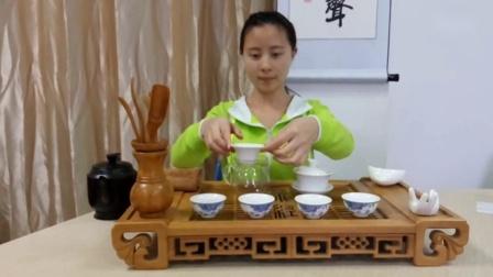 茶艺表演 茶道六君子 铭泉茶业