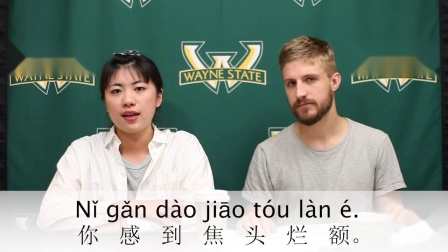 Learn a Chinese Phrase #123 焦头烂额