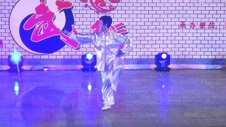 3.武术:五行拳 表演者:苏少明(香港)