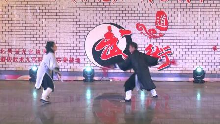 9.武术:对练 表演者:刘燕辉(岳阳)、李玉琼(深圳)
