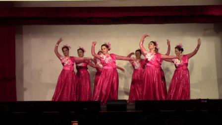 联成曼哈顿歌舞团2O19冬季音乐会舞蹈。《春江花月夜》《玫瑰玫瑰我爱你》《又唱浏阳河》